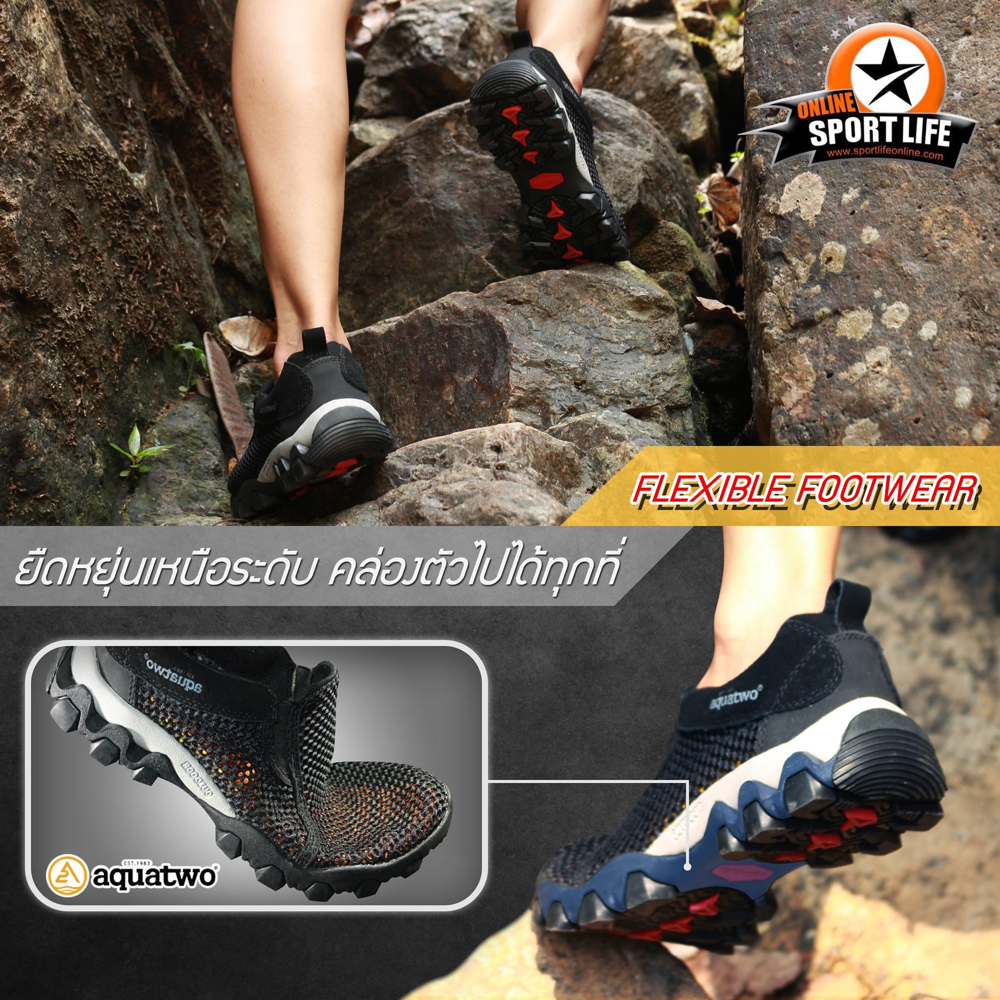 รองเท้าตาข่าย รองเท้าผู้ชาย aquatwo 957-รายละเอียดสินค้า