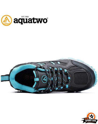 รองเท้าเดินป่า กันน้ำ aquatwo รุ่น304-สีฟ้า