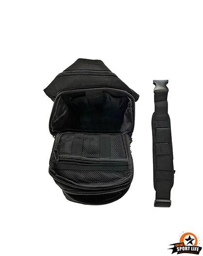 กระเป๋าสะพายข้างใหญ่-กระเป๋าเดอะร็อค-SB02-ดำ