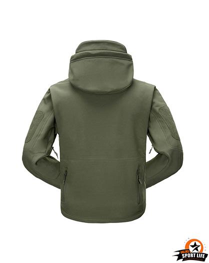 เสื้อแจ็คเก็ต สไตล์แทดเกียร์-เขียว