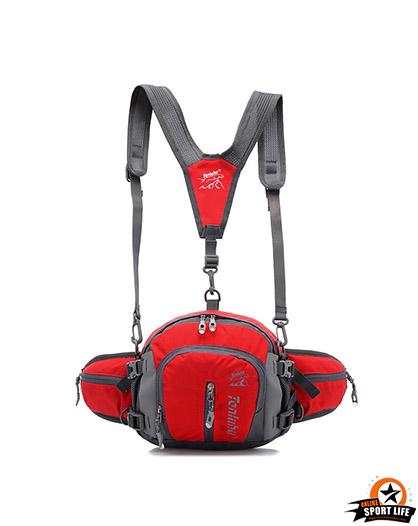 กระเป๋าคาดเอว-สะพายไหล่-B7-แดง