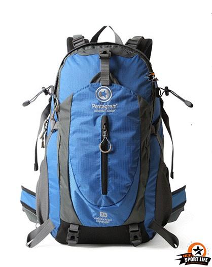 กระเป๋าเป้ กระเป๋าสะพายหลัง เดินทาง ยี่ห้อ Pentagram จุ 50L-น้ำเงิน